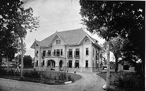Deli Railway Company - Image: COLLECTIE TROPENMUSEUM Kantoor van de Deli Spoorweg Maatschappij te Medan T Mnr 60004410