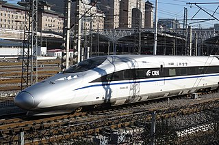 G-series trains Train type in China