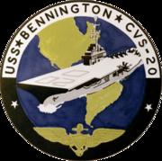 CVS-20 Bennington insignia