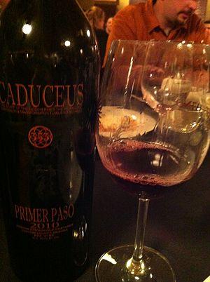 Caduceus Cellars - A Primer Paso from Caduceus.