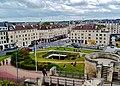 Caen Château de Caen Blick auf die Rue Montoir Poissonnerie 7.jpg