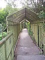 Caged walkway near Woolley Wood - geograph.org.uk - 1377149.jpg