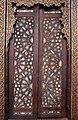 Cairo, moschea di al-muayyad, interno, intarsi eburnei 03 porta.JPG