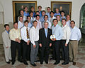 Cal men's water polo team at the White House 2007-06-18.jpg