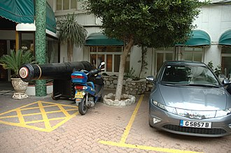 Caleta Hotel - Image: Caleta Palace Hotel entrance 2