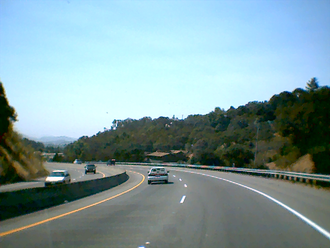 California State Route 37 - SR 37 near Sears Point