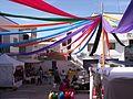 Calles decoradas en las fiestas de El Primer Corte de la Miel Ayora 2016 12.jpg