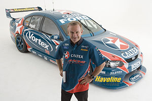 Stone Brothers Racing - Russell Ingall and his 2006 Ford BA Falcon