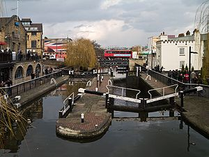 Camden Town - The twin Camden Locks