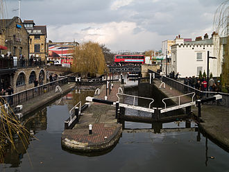 Camden Town - The twin Camden Locks
