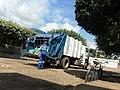 Caminhão da coleta de lixo de Baixo Guandu ES.JPG