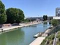 Canal St Denis vu depuis Pont Stains Aubervilliers 2.jpg