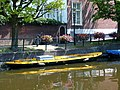 Canal boat in the Hague (9229409449).jpg
