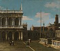 Canaletto (Venice 1697-Venice 1768) - Capriccio View of the Piazzetta with the Libreria - RCIN 405268 - Royal Collection.jpg