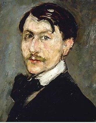 Ricard Canals - Self-portrait (1900s?)