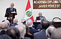 Canciller ofreció Clase Magistral en la Academia Diplomática del Perú (14936100490).jpg