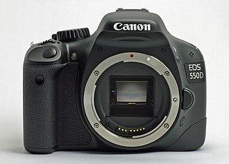 Canon EOS 550D - Image: Canon EOS550D