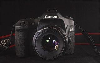 Canon EOS 50D DSLR camera