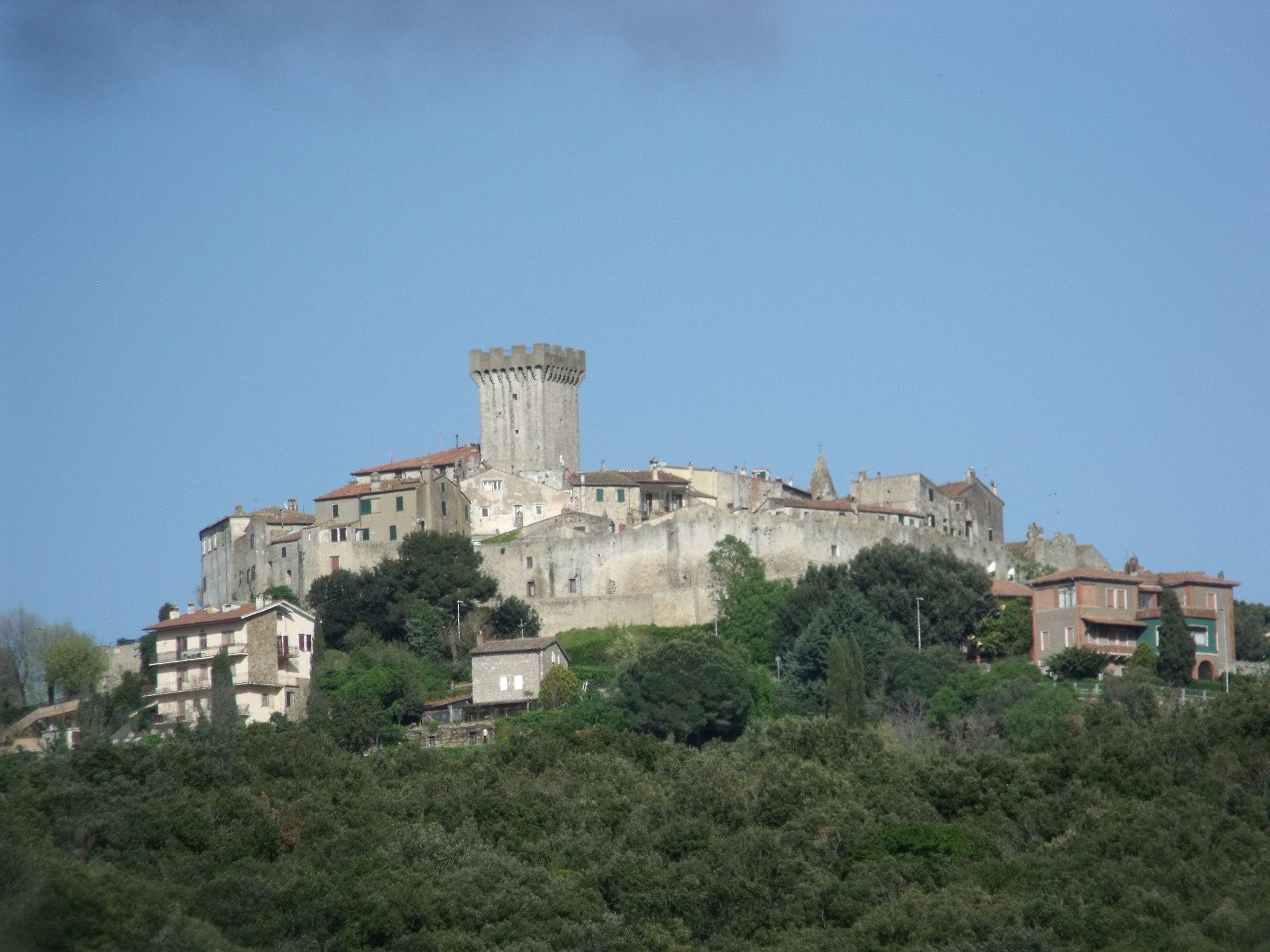 Panorama of Capalbio, Maremma, Province of Grosseto