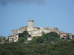 Panorama of Capalbio, Maremma, Southern Tuscany