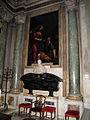 Cappella usimbardi, cristofano allori e zanobi rosi, san pietro sulle acque, 1621, 01.JPG
