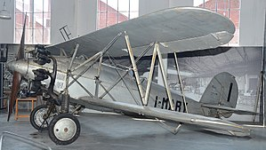 Caproni Ca.113 - The sole surviving Ca.113, at Volandia Park and Aviation Museum, Milan Malpensa Airport, Italy