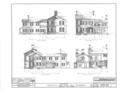 Captain Alexander Marshall House, Auburn-Aureling Road, Auburn, Cayuga County, NY HABS NY,6-AUB.V,2- (sheet 3 of 10).png
