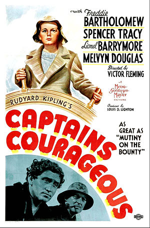 Captains Courageous (1937 film) - Film poster