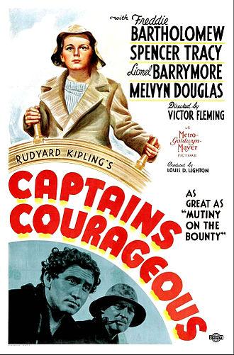 Captains Courageous (1937 film) - Film poster
