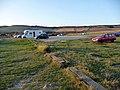 Car park at Kimmeridge Bay - geograph.org.uk - 1628952.jpg