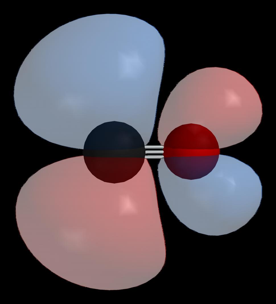 Carbon-monoxide-LUMO-phase-3D-balls