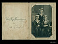 Card with a photograph of three men dressed in naval uniforms (10699711524).jpg