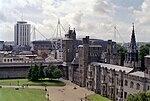 Cardiff Castle and Millennium Stadium.jpg