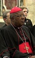 Cardinal John Njue in February 2017 in the Vatican City.jpg