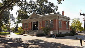 Paso Robles Carnegie Library - Image: Carnegie Library, Paso Robles