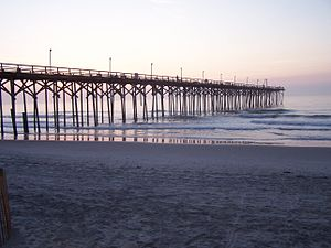 Carolina Beach, North Carolina - Carolina Beach Pier