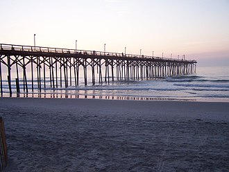 Carolina Beach, North Carolina - Carolina Beach Pier