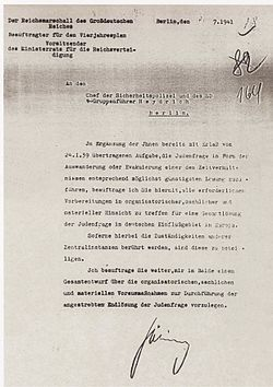 reinhard heydrich essay Wannsee conference research papers  the purpose of the conference, organized by ss head reinhard heydrich, was the coordination of the various government agencies in implementing the final solution,  heydrich sent out invitations to the conference in november 1941 however,.