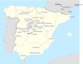 Carte de répartition des principales nécropoles wisigothiques en Espagne et en France.png