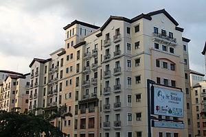 Newport City, Metro Manila - Casa Fiore residential complex in Newport City