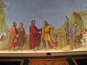 Antonio Marini - Frescos in Casa Martelli, Florence