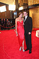 Cassandra Thorburn and Karl Stefanovic at 2011 Logie Awards.jpg
