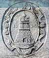 Castel Goffredo-Stemma del comune su monumento ai caduti.jpg