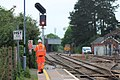 Castle Cary - Network Rail staff (Colas DR77327).JPG