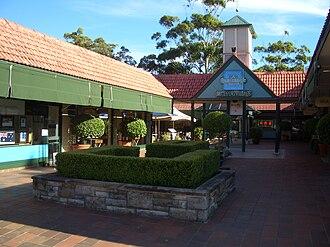 Castlecrag, New South Wales - Image: Castlecrag Quadrangle