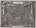 Catafalque of Charles X Gustav, King of Sweden, in the chapel of the castle in Stockholm (Castrum doloris in funere... Caroli Gustavi), from De rebus a Carolo Gustavo Sueciae rege gestis... MET DP875178.jpg