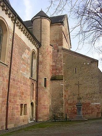 Lescar Cathedral - Image: Cathédrale Lescar 1