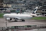 Cathay Pacific Airways Airbus A330-342 (30280896475).jpg