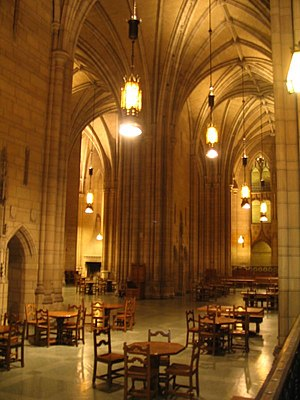 University of Pittsburgh Graduate School of Public and International Affairs - Commons Room in the Cathedral of Learning (study location near GSPIA)