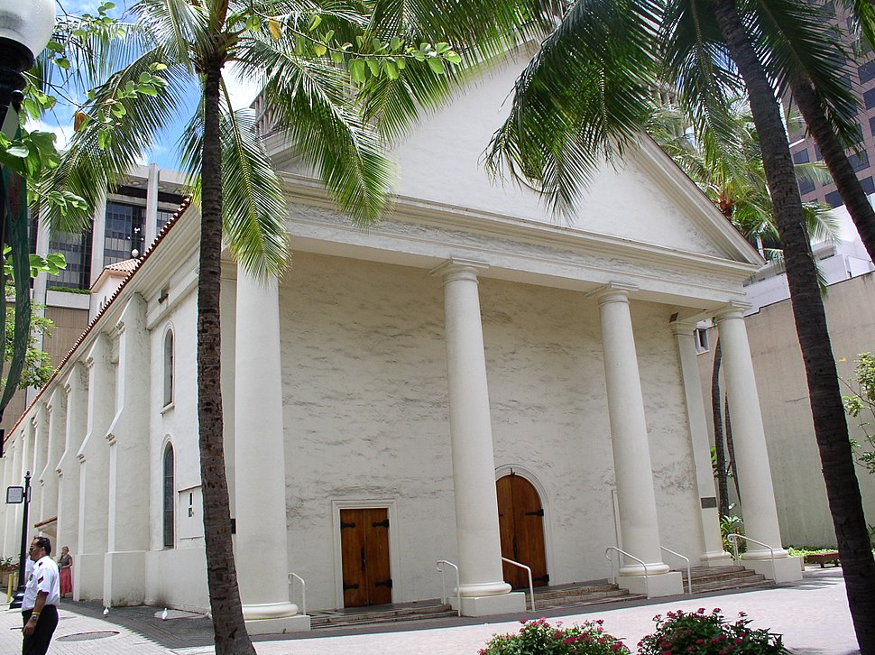 Cathedral of Our Lady of Peace west